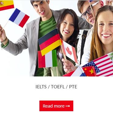 IELTS/TOEFL/PTE